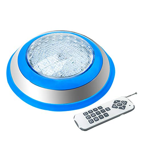 - WYZM Wireless Control LED Pool Light,Color Changing Pool Light Fixture for Inground Swimming Pool,12V AC 35W Power,IP66 Waterproof