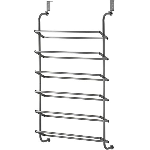 6-Shelf Over-the-Door Shoe Rack