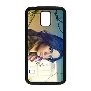 Samsung Galaxy S5 Case,Lyndsy Fonseca Black Customized Phone Case For Samsung Galaxy S5