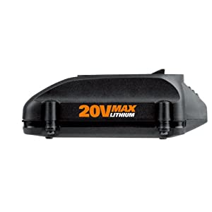 WORX WA3520 20-Volt 1.5 Amp Hour MaxLithium Battery – PowerShare Battery Platform and Replacement Battery