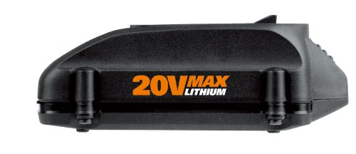 Worx WA3520 20-Volt 1.5 Amp Hour MaxLithium Battery – PowerShare Battery Platform and Replacement Battery by Worx