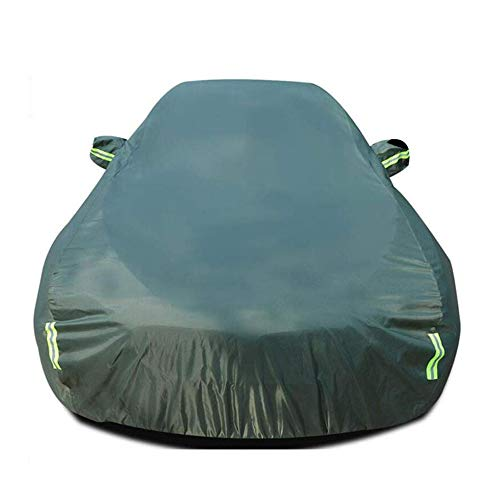 HFFTLH Car Cover Double Velvet Lining Compatible with car Hood GM Cadillac Series ATS, CT6, CTS, DTS, ELMIRAJ, SCLADE, SRX, STS, XT4, XT5, XT6, XTS,Green,XT5