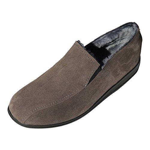 Lammfell Hausschuhe - BIEKAMP STAHL Herren Schuhe