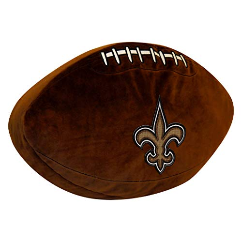 Officially Licensed NFL New Orleans Saints 3D Sports Pillow