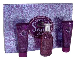 - Liz Claiborne Curve Soul Vintage By Liz Claiborne For Women. Gift Set ( Eau De Parfum Spray 3.4 & Body Lotion 3.4-Ounces + Shower Gel 3.4-Ounces ),  Uni