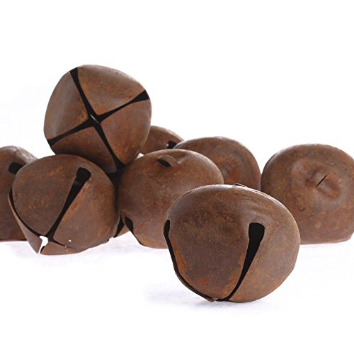 Bag of 9 Rusty Tin Jingle Bells for Holiday Decor and Crafting Factory Direct Craft® 4334198260