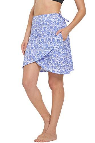 HonourSex Womens Swim Beach Bikini Cover Up Swimsuit Wrap Pareo Summer Skirt Sarong Clothing Multitasks Travel Swimwear