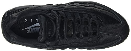 Nike Air Max 95 Premium Black Pony 807443004, Turnschuhe