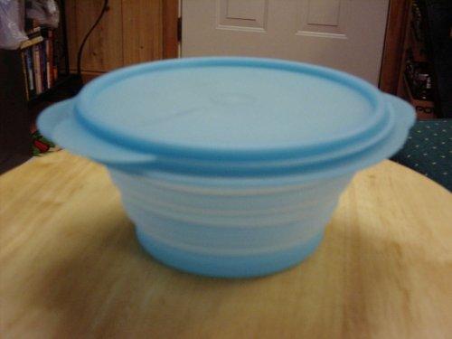 Tupperware 3cup Flat-out Bowl Cool Aqua