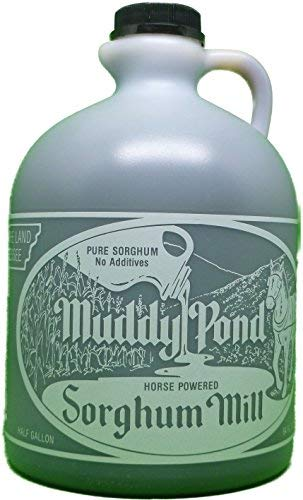 Muddy Pond Pure Sorghum 64 Fl. Oz. (Half Gallon) (The Old Mill Pond)