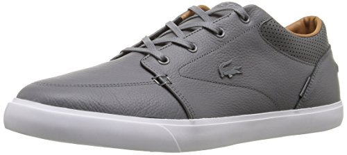 Lacoste Men's Bayliss Vulc Prm Us Spm Fashion Sneaker Fashion Sneaker, Grey, 10 M US