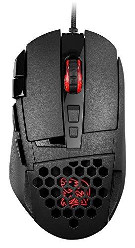 Thermaltake Tt e Sports Ventus Z 11000 DPI 16.8 Million Color Dual-Zone RGB Avago 9500 Software Performance Monitoring Laser Gaming Mouse MO-VEZ-WDLOBK-01