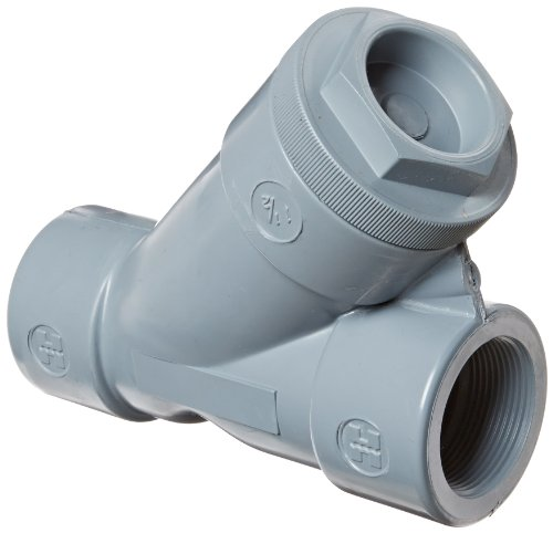 Hayward CPVC Y-Strainer, FPM Seal, 1-1/2'' Threaded by Hayward Flow Control