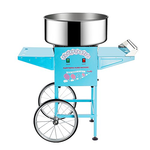 Great-Northern-Popcorn-Flufftastic-Cotton-Candy-Machine-Floss-Maker-With-Cart