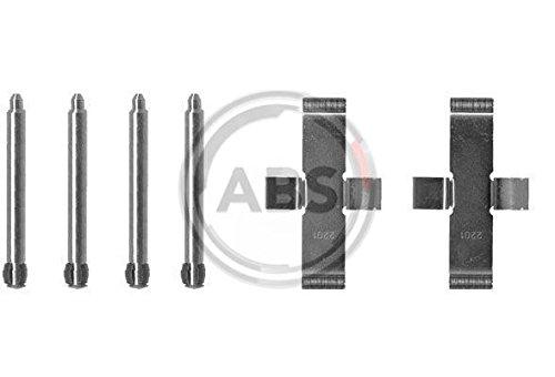 ABS 1037Q Kit de Accesorios, Pastillas de Frenos ABS All Brake Systems bv