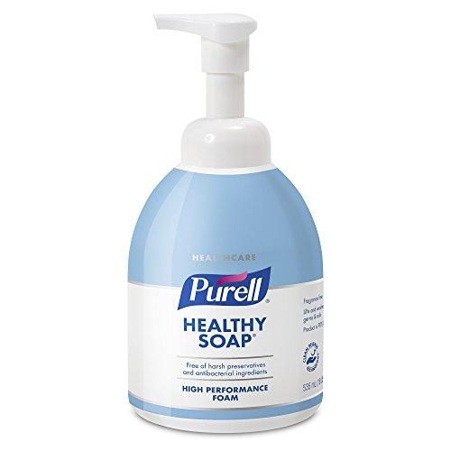 535 Ml Pump Bottle - PURELL Healthcare CRT Healthy SOAP High Performance Foam, 535 mL Counter Top Pump Bottle (Pack of 4) – 5775-04