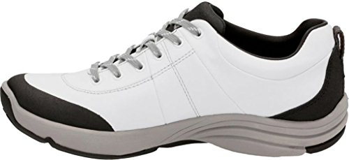 5 Leather Women's 5 US White B Andes Clarks Wave 1HzxqX