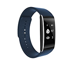 Amazon.com: Fristype Fitness Tracker Watch K8 Smart Bracelet ...