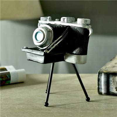 S-World-4Home - RetroTripod Camera Model Figurines Household Decoration Crafts Shop Window Personalization Ornaments Pography Props ()