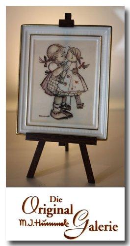 M/ütterchen ** mit Zertifikat Handbemalt Hummel Gallery ** Puppen J Porzelan Bild mit Staffelei The Original M