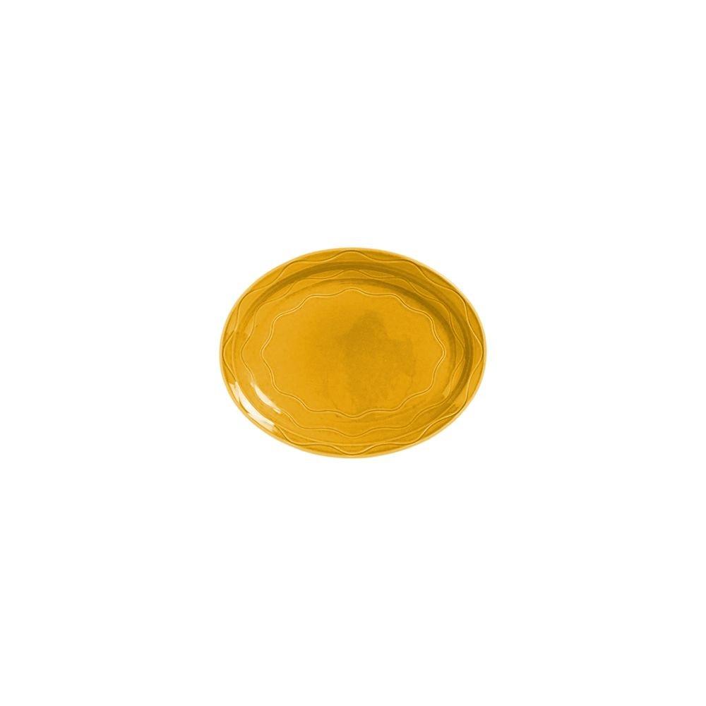 Syracuse China 903033001 Cantina Saffron 13.63'' Platter - 6 / CS