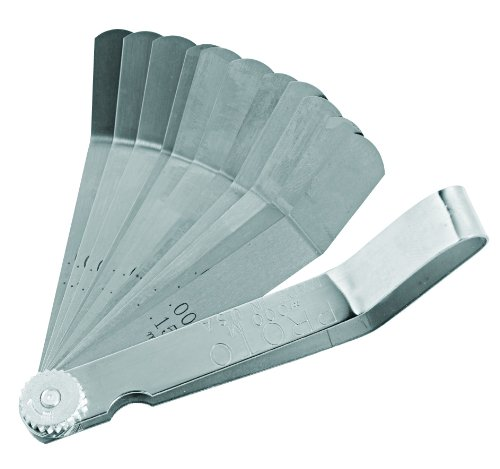 Stanley Proto J000M 11 Blade Bent Feeler Gauge ()