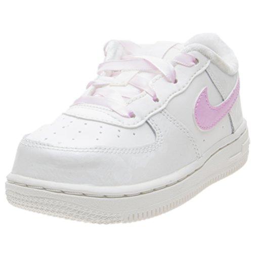 Nike 314221-130 - Zapatillas de Piel Para Niña Blanco Bianco/Rosa