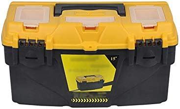 ChenCheng ツール収納ボックス - プラスチック製の補強補強ツール収納ボックスファミリーカーポータブルスーツケース修理ツール収納ボックス ツールボックスストレージと組織 (Size : 50cmx25cmx27.5cm)