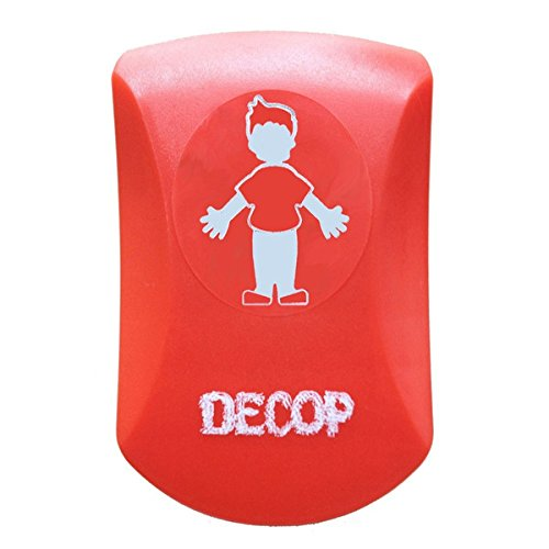 Emboss Designs - Comolife Cute Design Emboss Paper Punch , Boy