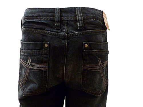 CAMP DAVID NICK REGU BLACK USED DENIM CD R611
