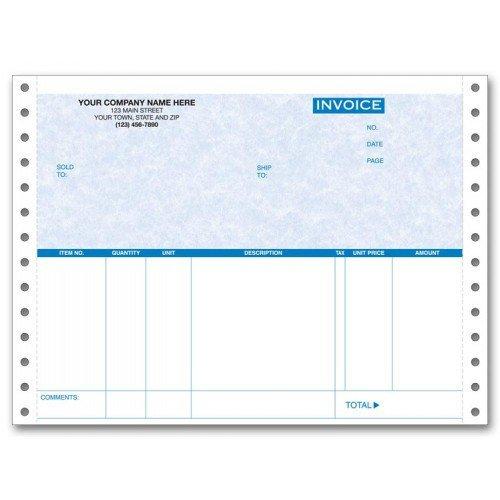 Continuous Invoice - 1
