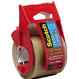 Scotch Brand Box and Package Sealing Tape