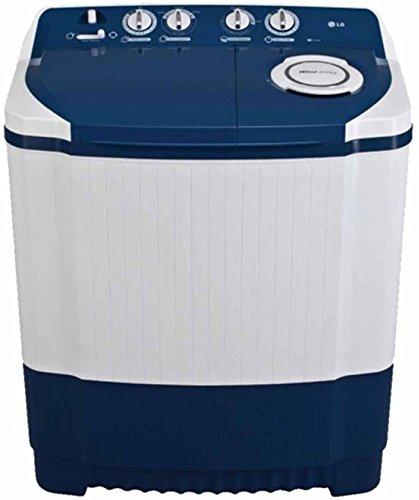 Lg 7.0 Kg Semi-Automatic Top Loading Washing Machine (P8071N3Fa, Dark Blue) Washing Machines & Dryers at amazon