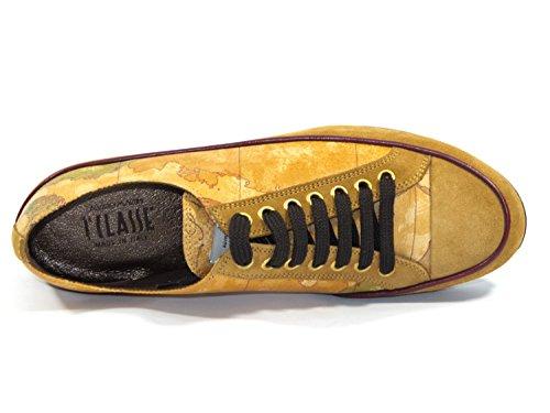 Alviero 1 Sneaker Donna Camoscio Classe Martini Pelle Donna IT 40 Geo Tq55S