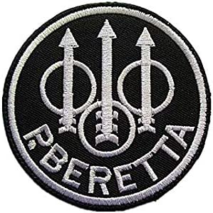 Beretta  Patches Embroidered Badges Sew//Iron on
