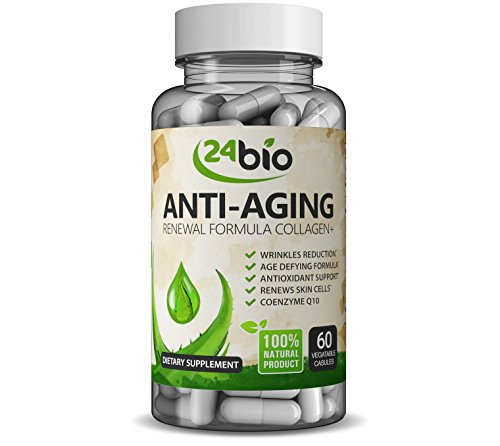 Best CoQ10 Upgraded Collagen Pills Wrinkle Reduction Supplement Complex with Grape Seed Extract that Works Best Pure Verisol Collagen Capsules for Anti-Aging Antioxidant Support amp Skin Renewal Discount