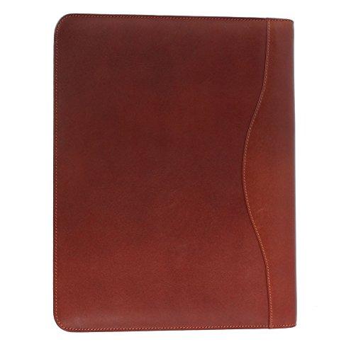 Mala de piel TORO Colección Zip Alrededor de carpetas de Conferencia de cuero Negro 5100_68 canela