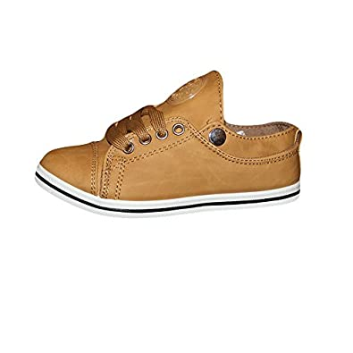 profitez de la livraison gratuite 2019 meilleures ventes chaussures de sport ENFANTVIP - Basket Basse Camel - Garcon - Enfant (32 ...