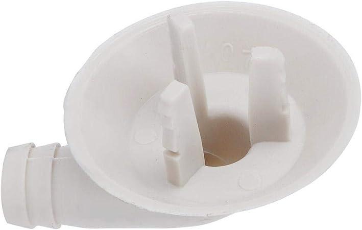 Fditt Aire Acondicionado Codo Boquilla de Drenaje Dispositivo Externo Drenaje Conector de Tuber/ía de Agua
