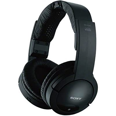Sony 900MHz Wireless Stereo Noise Reduction Headphones With 40 mm Driver Units, Automatic Tuning, Up To 45 Meter (150 Ft.) Reception Range, 25 Hour Battery Life, Volume Control On Headphones, Easy Connection Of TV, Hi-Fi, And Other Components