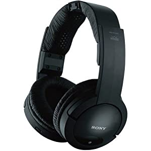 Sony MDR-RF985RK Wireless Radio Frequency Headphones (case of 2) by Sony
