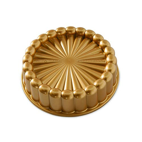 Nordic Ware 83577 Charlotte Cake Pan, One Size, Gold ()