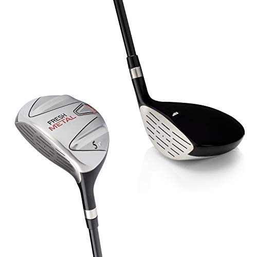 Left Handed Golf Club Founders Club Fresh Metal Fairway Wood with Headcover and Graphite Shafts (18, Regular)