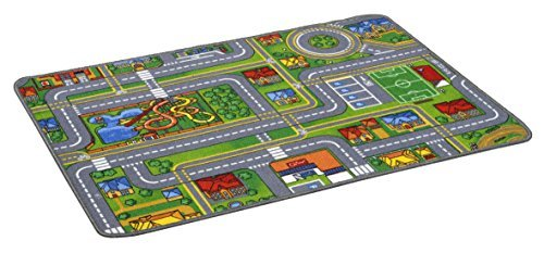 Childrens City Plan Car Playmat 80 x 120cm by Longacres (Plan City Playmat)