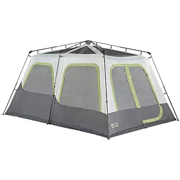 Coleman Company Signature Instant Cabin 10 Person Classic Tent Black/Grey  sc 1 st  Amazon.com : coleman instant up 10 person tent - memphite.com