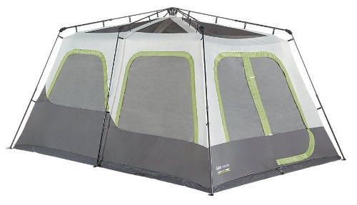 Amazon.com  Coleman Company Signature Instant Cabin 10 Person Classic Tent Black/Grey  Sports u0026 Outdoors  sc 1 st  Amazon.com & Amazon.com : Coleman Company Signature Instant Cabin 10 Person ...