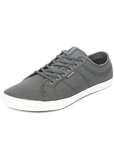 Jack & Jones Mens  Ross Canvas Pump Trainers 0 Castlerock C8QSa3