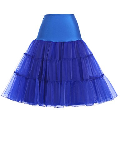 (1960's Vintage Clothing Accessories Plus Size (2X,Royal Blue))
