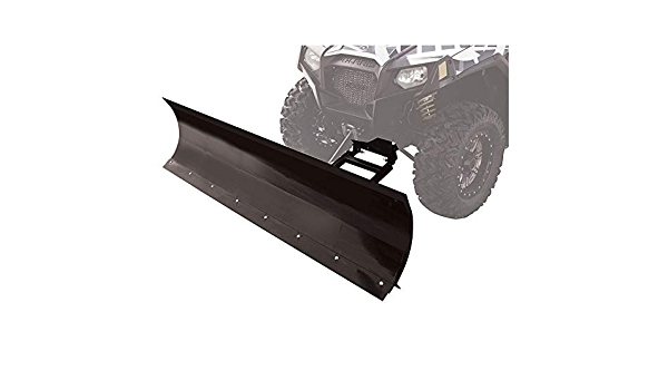Winch Equipped UTV Snow Plow Kit 66 Blade for Polaris GENERAL 4 1000 EPS 2017-2018