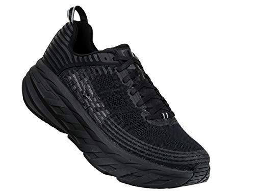 肥沃な放射能電子Hoka One One(ホカオネオネ) メンズ 男性用 シューズ 靴 スニーカー 運動靴 Bondi 6 - Black/Black 10 D - Medium 並行輸入品